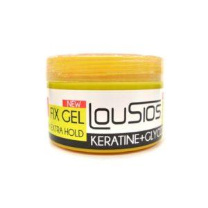 LOUSIOS FIX GEL KERATINE + GLYCOL EXTRA HOLD 500 GR