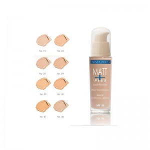 MATT PLUS LIQUID FOUNDATION SEVENTEEN