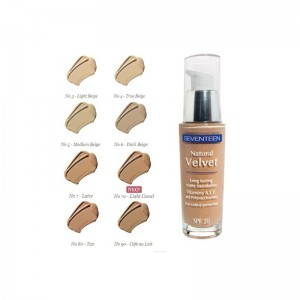 NATURAL VELVET LONG LASTING MAKE UP