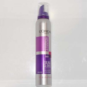 STUDIO LINE SILK AND GLOSS EXTRA VOLUME L OREAL 250 ml