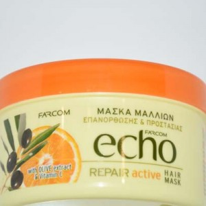 echo repair active hair mask