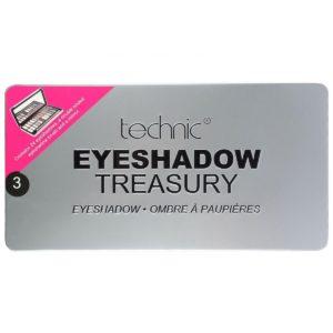 Technic Eyeshadow Treasury - Silver-1